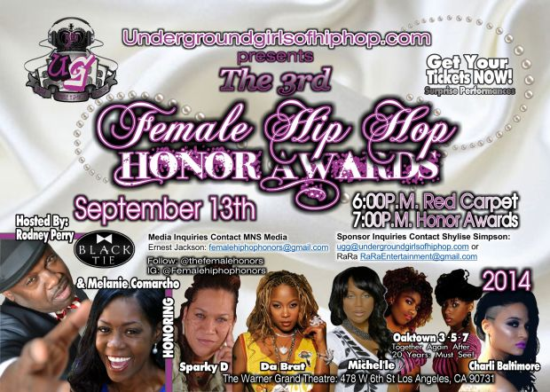 3rd Female Hip Hop Awards