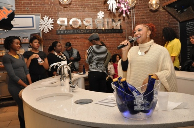 Deja Vu hosting Holiday Hair Affair